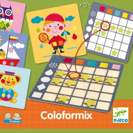 Coloformix - Djeco - Jeux en solo