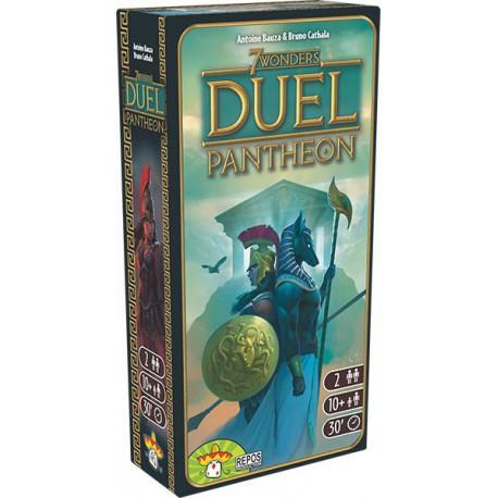 7 Wonders Duel Panthéon - Repos Production - Jeux de société - Pour tous (8 ans - Adulte)