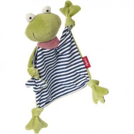 Doudou Grenouille Green - Sigikid - Doudous - Les tout-petits