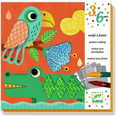 3-6 FROTTAGE - 3-6 ans - Loisirs créatifs