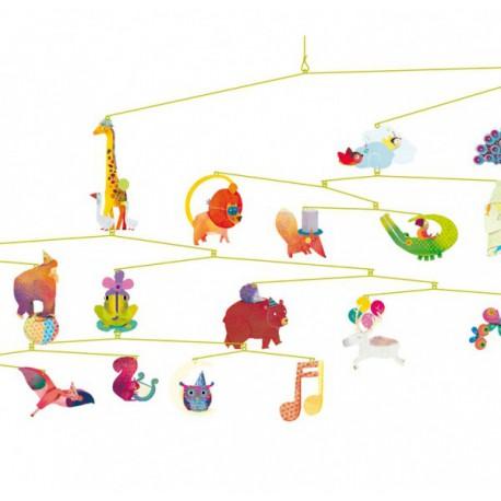 Carnaval des animaux - Djeco - Mobiles - Accessoires