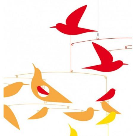 Oiseaux en harmonie - Djeco - Mobiles - Accessoires