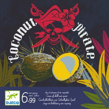 Coconut Pirate - Djeco - Jeux de dés - Jeux de société - Pour les enfants (5-7 ans)