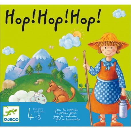 Hop! Hop! Hop! - Djeco - Jeux coopératifs - Pour les petits (2-4 ans) - Pour les enfants (5-7 ans) - Jeux de société
