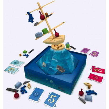 Riff Raff - Zoch - Jeux d'adresse - Jeux en bois - Jeux de société - Pour tous (8 ans - Adulte)