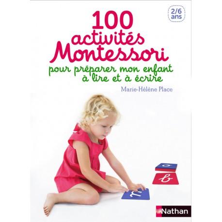100 activtés Montessori - NATHAN - Pédagogie Montessori - Livres jeunesse