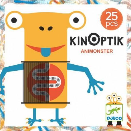 Kinoptic Animonstre - Djeco - Jouets en bois  - Empiler Assembler