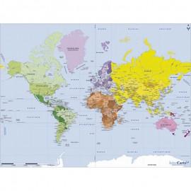 50 - Carte du monde