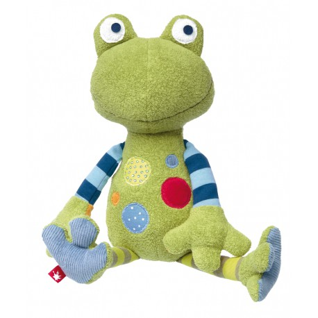 Grenouille Patchwork Sweety - Sigikid - Les tout-petits - Peluches
