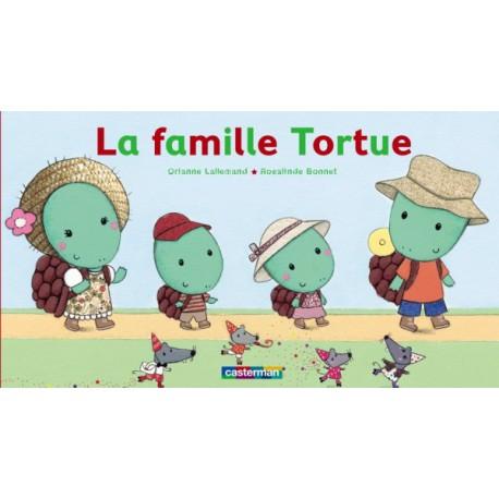 Famille tortue - CASTERMAN - Livres tout-carton - Livres jeunesse