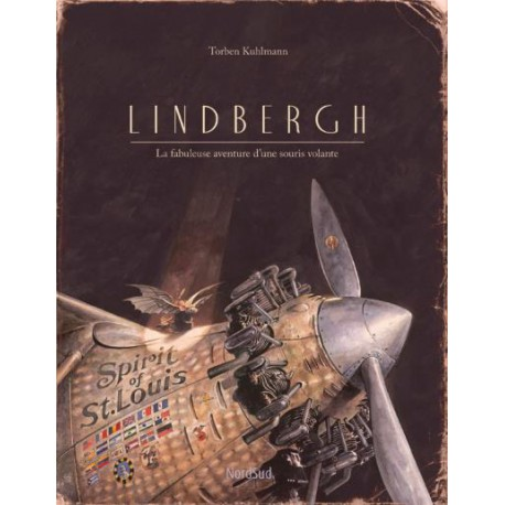 Lindbergh - NORD SUD - Albums Enfants 5 - 7 ans - Livres jeunesse