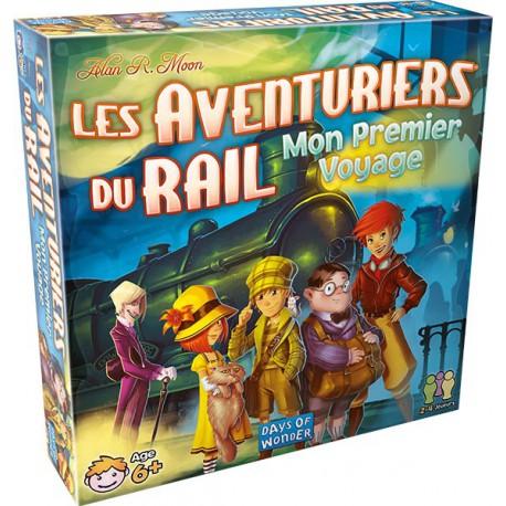 Aventuriers du Rail - Mon Premier Voyage - Days of wonder - Pour les enfants (5-7 ans) - Jeux de société