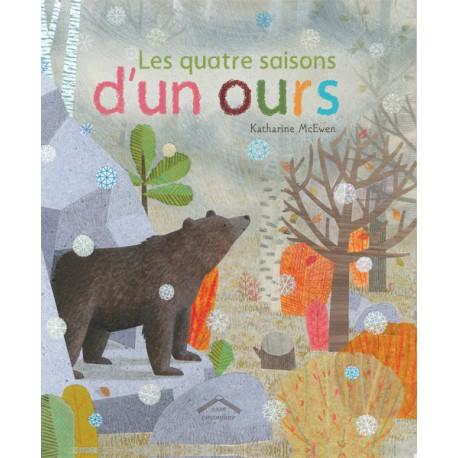 Quatre saisons d'un ours - CIRCONFLEXE - Albums Enfants 3 - 5 ans - Livres jeunesse