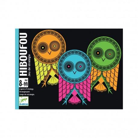 HIBOUFOU - Djeco - Pour les enfants (5-7 ans) - Jeux de société - Pour tous (8 ans - Adulte)