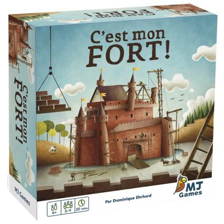 C'EST MON FORT - Pour les enfants (5-7 ans) - Jeux de société - Pour tous (8 ans - Adulte)