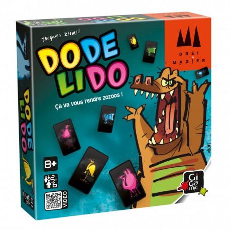 Dodelido - Gigamic - Observation / Rapidité - Pour tous (8 ans - Adulte)