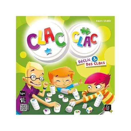Clac Clac - Gigamic - Jeux de société - Pour les petits (2-4 ans) - Observation / Rapidité