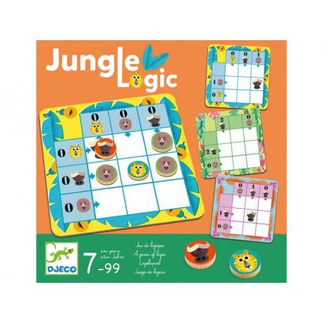 Jungle Logic - Djeco - Jeux en solo