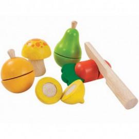 Jeu de fruits et légumes