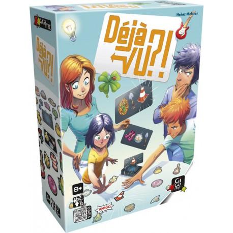 Déjà vu ?! - Gigamic - Jeux de mémoire - Jeux d'ambiance - Observation / Rapidité - A partir de 8-10 ans - Jeux de société