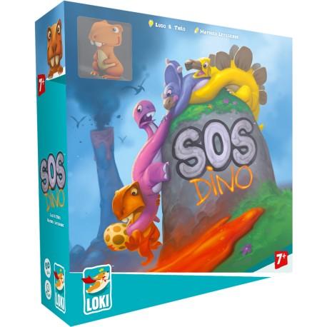 SOS Dino - Iello - Jeux coopératifs - A partir de 5-6 ans - Jeux de société