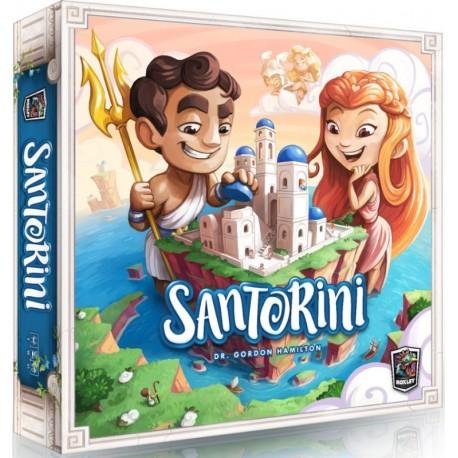 Santorini - A partir de 8-10 ans - Jeux de société