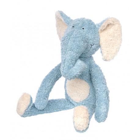 Eléphant bleu (L) - Sigikid - Peluches - Doudous - Les tout-petits