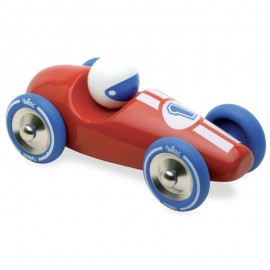 Voiture de course GM rouge