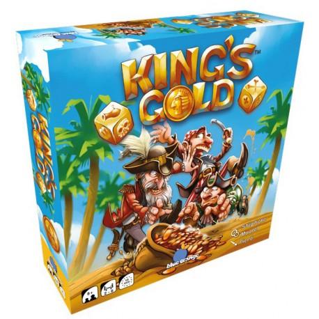 King's Gold - Blue Orange - Jeux de dés - Pour les 8 ans - Adultes - Jeux de société