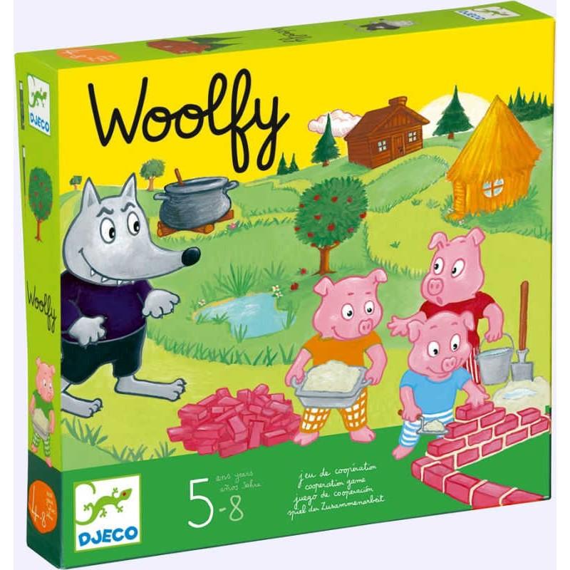 Woolfy - Djeco - Jeux coopératifs - A partir de 5-6 ans - Jeux de société