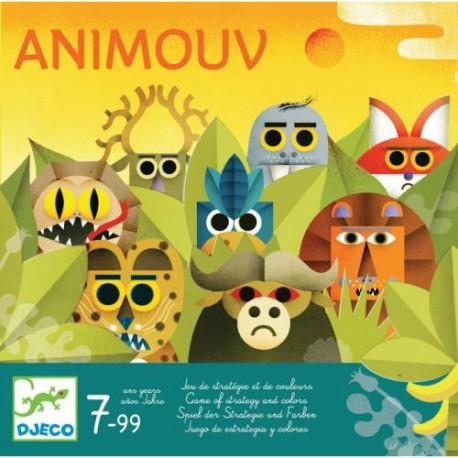 Animouv - Djeco - A partir de 5-6 ans - A partir de 8-10 ans - Jeux de société