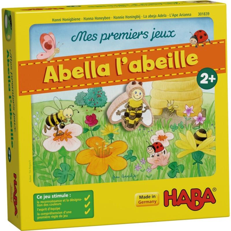 Abella l'abeille - HABA - Jeux de dés - Jeux coopératifs - A partir de 2-3 ans - Jeux de société