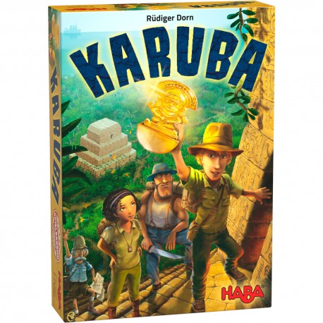 Karuba - HABA - Jeux de connexion - Pour les 8 ans - Adultes - Jeux de société