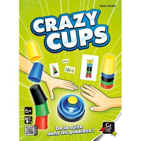 Crazy Cups - Zoch - Observation / Rapidité - A partir de 5-6 ans - Jeux de société