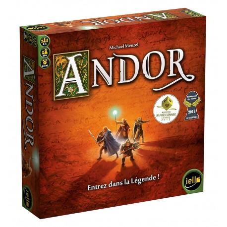 Andor - Iello - Jeux coopératifs - Pour les 8 ans - Adultes - Jeux de société