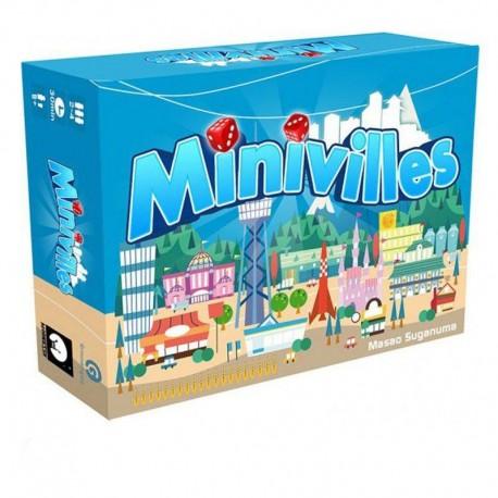 Minivilles - Moonster Games - A partir de 8-10 ans - Jeux de société