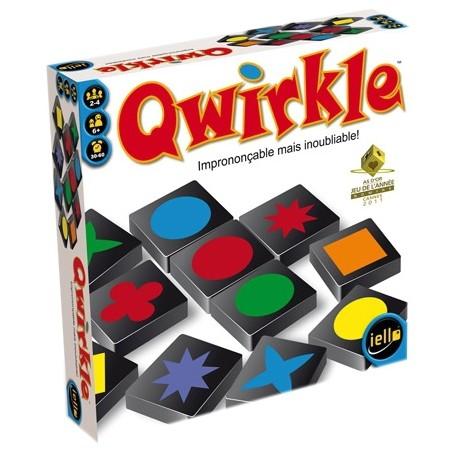Qwirkle - Iello - Jeux de connexion - Pour les 8 ans - Adultes - Jeux de société