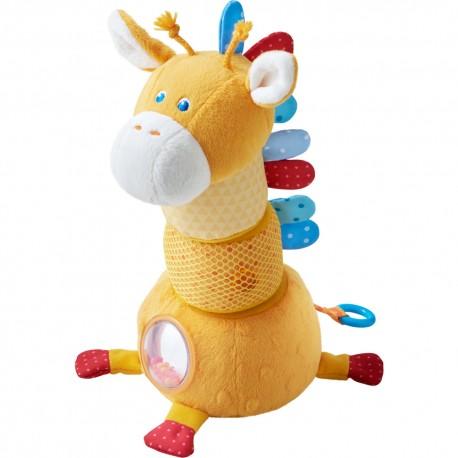 Girafe tachetée - HABA - Jouets tissu et peluches - Les tout-petits