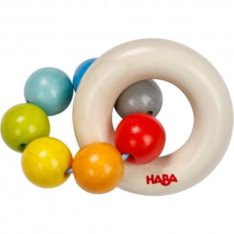 Boules Arc-en-ciel - HABA - Hochets - Les tout-petits