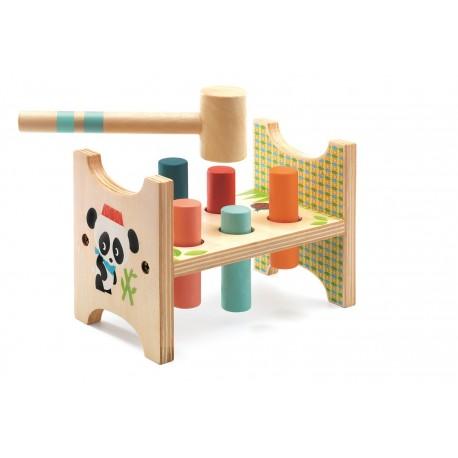 Junzo Taptap - Djeco - Empiler Assembler - Jouets en bois