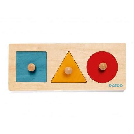 Formabasic - Djeco - Formes et couleurs - Jouets en bois