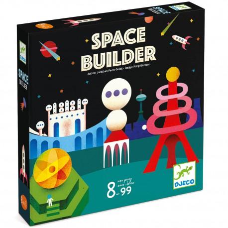 Space Builder - Djeco - Jeux logiques - A partir de 8-10 ans - Jeux de société