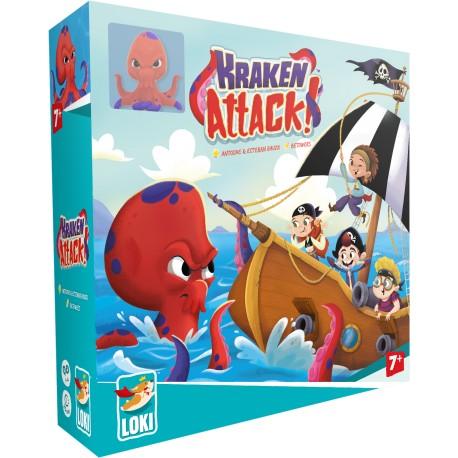 Kraken Attak ! - A partir de 5-6 ans - Jeux de société