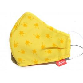 Masque enfant jaune