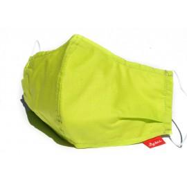 Masque tissu vert