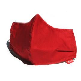 Masque tissu rouge