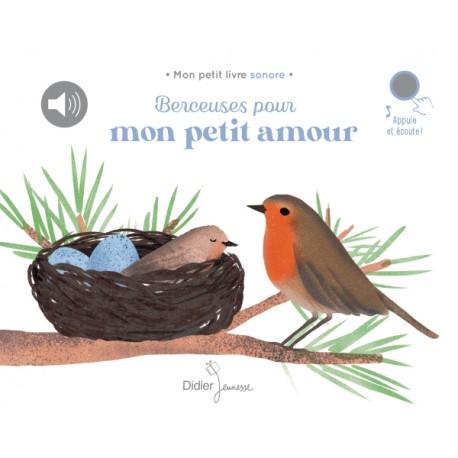 Berceuses pour mon petit amour - Livres tout-carton - Livres jeunesse