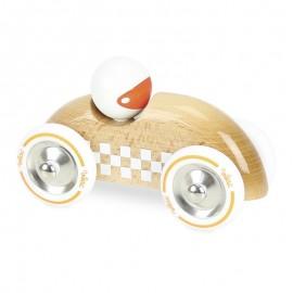 Rallye checkers GM bois naturel