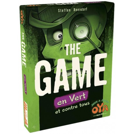 The Game en Vert - OYA - A partir de 8-10 ans - Jeux de société