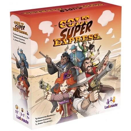 Colt Super Express - Ludonaute - A partir de 8-10 ans - Jeux de société